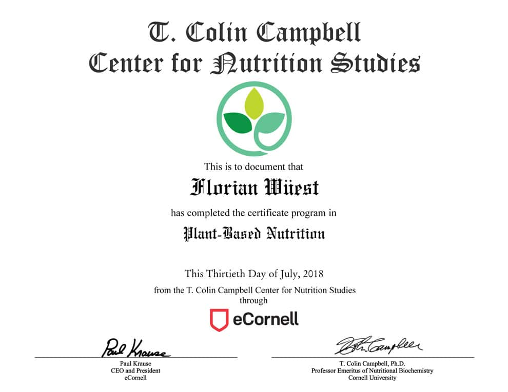 Plant-Based-Nutrition-Certificate
